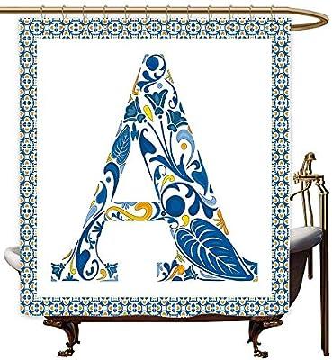 MaryMunger - Cortinas para mampara de Ducha, diseño Abstracto ...