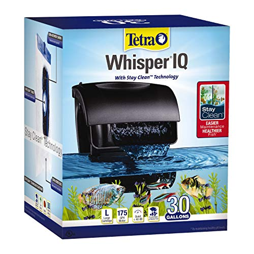 Filter Aquarium Bio (Tetra 78002 Whisper IQ Power 30 Gallon Filter)