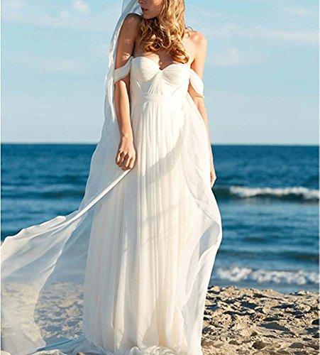 de Mujer Bridal Style8 Elfenbein mangas novia Vestido Special Sin wERCqpwZ