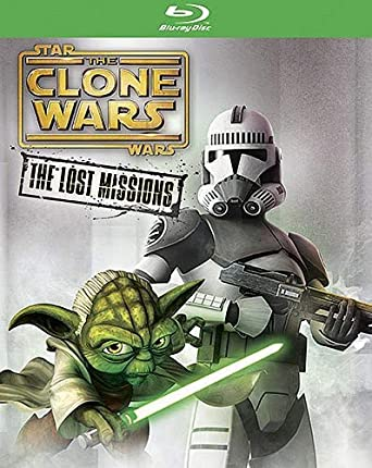 Star Wars The Clone Wars The Lost Missions Blu Ray Tom Kane Dee Bradley Baker Matt Lanter James Arnold Taylor Ashley Exckstein Movies Tv