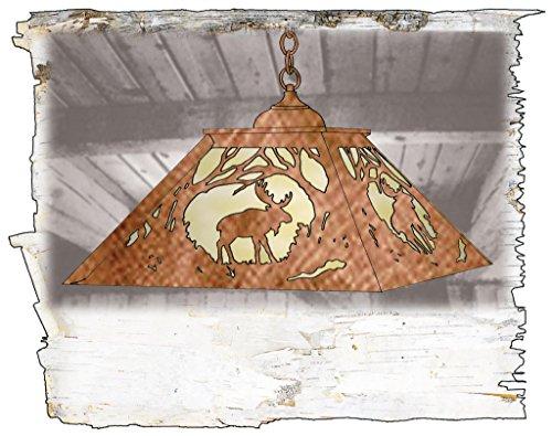 Moose 2 Light Pendant - 8