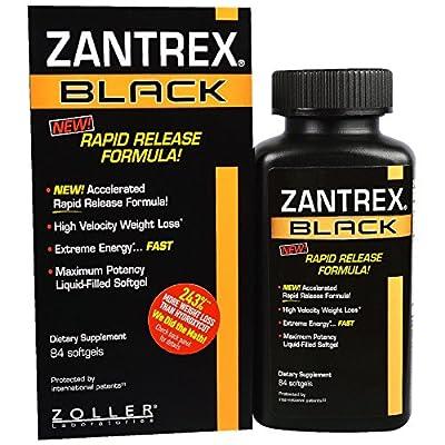 Zoller Laboratories, Zantrex Black, 84 Softgels - 2PC