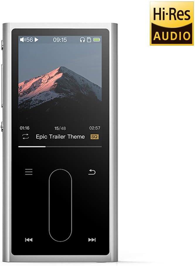 FiiO M3K - Reproductor MP3 (Reproductor de MP3, IPS, 77,5 g, Plata)