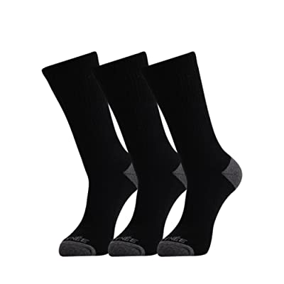JOYNÉE Men's 6 Pack Athletic Cotton Cushion Performance Crew Socks