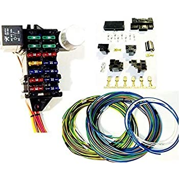 51xhqLFEa-L._SL500_AC_SS350_ Universal Street Rod Wiring Harness on vendors street rod wiring harness, universal street rod wiper motor, universal gm wiring harness, universal boat wiring harness, universal motorcycle wiring harness, bus with dimmer switch wire harness, universal street rod radiator, best street rod wiring harness, universal diesel wiring harness, universal street rod motor mounts, 18 circuit universal wiring harness, universal car wiring harness,