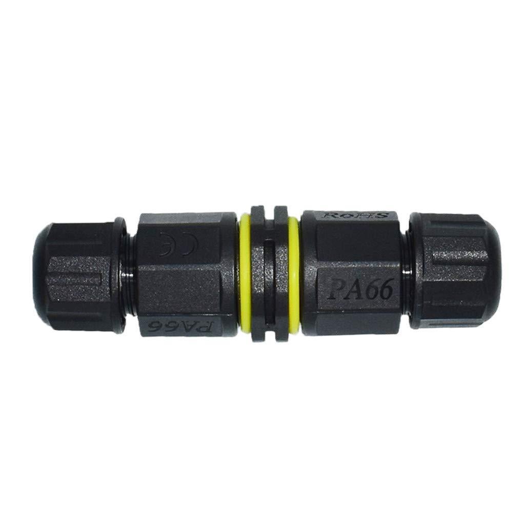 TriLance Connecteur /Étanche De Plein Air Bo/îte de Jonction IP67 Imperm/éable Bo/îtier /Électrique Ext/érieur Connecteurs des C/âbles en 2 P/ôles R/ésistant /à leau Facile /à Installer