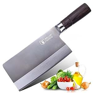 Amazon.com: Cuchillo de carnicero de 7.5 pulgadas, cuchillo ...