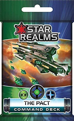 White Wizard Games Star Realms: The Pact Command Deck: Amazon.es: Juguetes y juegos