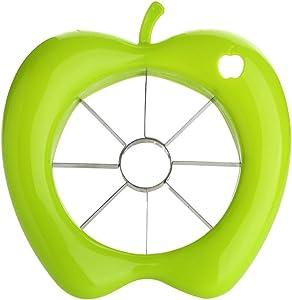YISUYA Kitchen Tool Corer Divider Peeler, Apple Pear Easy Cut Slicer, Green Cutter Pitter Corer Divider Peeler