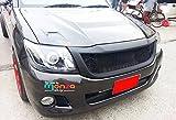 Front Grill Grille Black Net Abs for Toyota Hilux Vigo Kun Champ Mk7 12 13 14 15