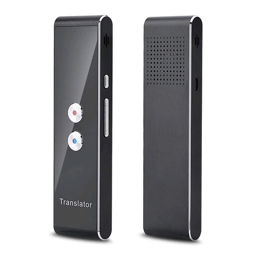 Portable, Intelligent 40-Language & Photographing Translation, Voice Translator,Real-time Voice Translator, Bluetooth Smart Pocket Interpreter (T8-Sliver) by Moore-Direct