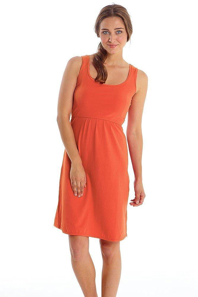 Mothers en Vogue Avery Organic Cotton Scoop Neck Nursing Dress