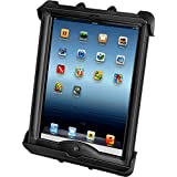 RAM Tab-Tite Universal Spring Loaded Cradle fits Apple iPad 1 2 3 4 with LifeProof or Lifedge Cases on it