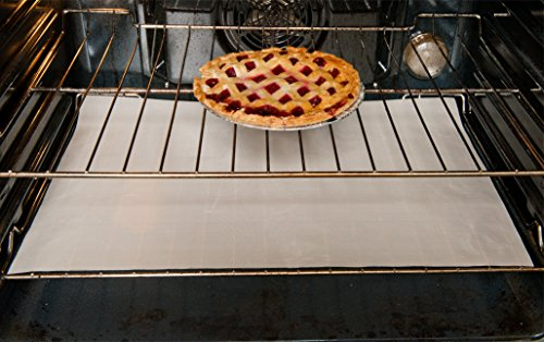 Evelots Non-Stick Reusable Oven Liners