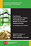 img - for Continuous Improvement; Values, Assumptions, and Beliefs for Successful Implementation: Its All About the Culture book / textbook / text book