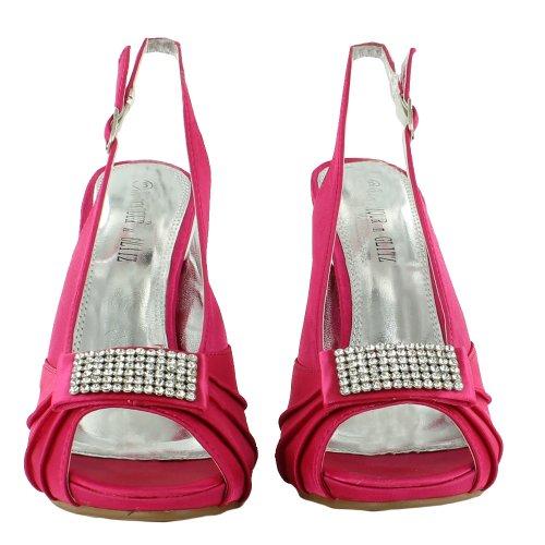 Footwear Sensation - Zapatos destalonados mujer rosa - rosa