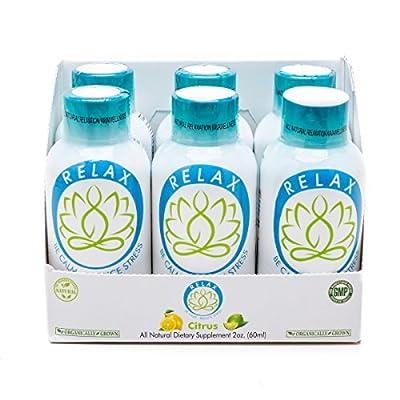 Kava Wellness RELAX Citrus Shot, 6 pack