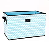 SCOUT Junque Trunk Storage Bin, 24 by 15 by 15 Inches, Waverunner