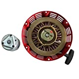 Cozy Pack of Pully Cup + Recoil Starter Pull Start fit for Honda Gx340 Gx390 11hp 13hp Generator Parts