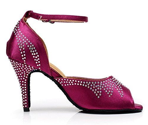 TDA - Zapatos con tacón mujer 8.5cm Heel Purple