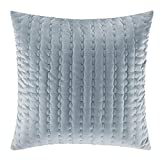 Stone Cottage 225168 Micro Mink Throw Pillow, Wedgewood Blue, 20x20
