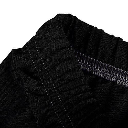 9b6d3868d4681 ILUCI Womens Plus Size High Waist Yoga Pants Solid Running Stretch Leggings  Trousers Yoga Sport Hole