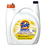 Tide Simply Free And Sensitive Liquid Laundry Detergent, 4.08 L