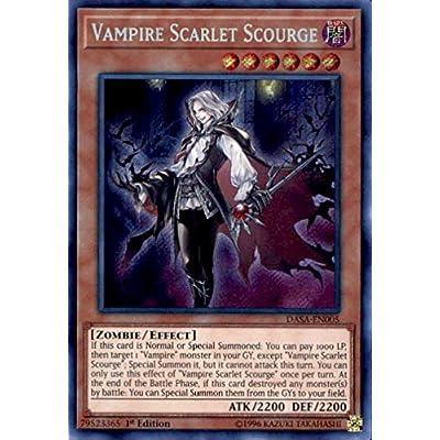Vampire Scarlet Scourge - DASA-EN005 - Secret Rare - 1st Edition: Toys & Games