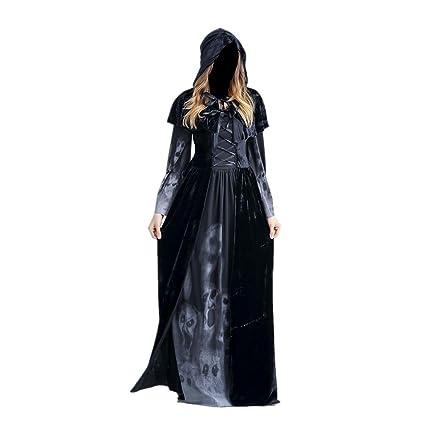 Meiju Disfraces de Halloween,Horror Cadaver Vampiresa Reina ...