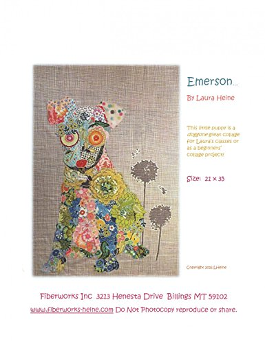 Emerson Puppy Collage Wall Hanging Quilt Pattern by Fiberworks by Fiberworks