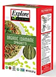 Explore Asian - Organic Edamame Spaghetti, 8 oz - 4 Pack | High Protein, High Fiber Pasta