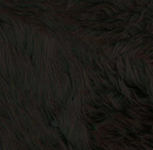 Shannon Faux Fur Luxury Shag Black