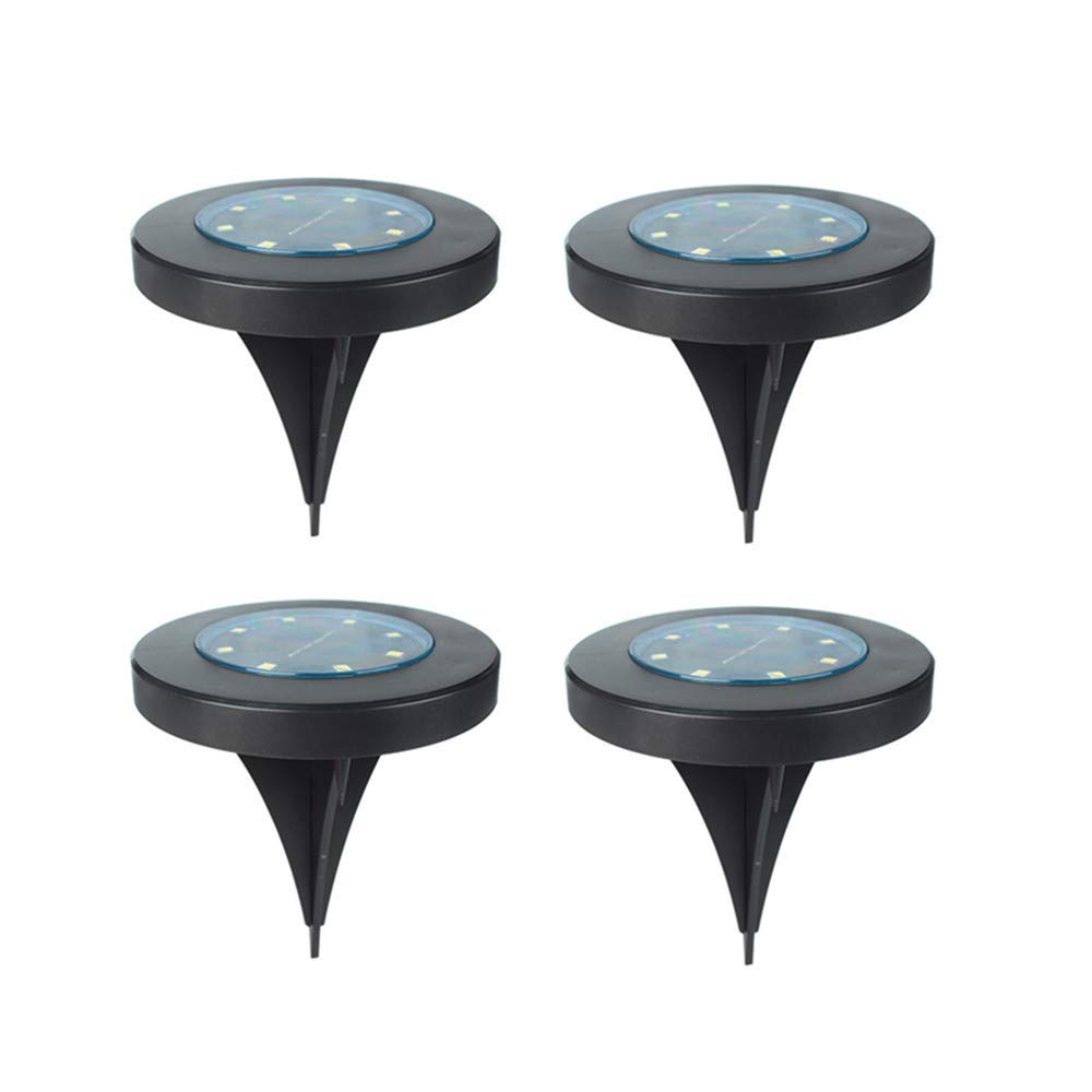 BOLUOYI Outdoor String Lights,String Lights with Clips USB,4PCS Solar Power Buried Light Ground Lamp Outdoor Path Way Garden Decking