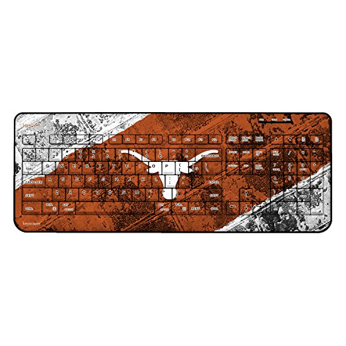 Texas Longhorns Wireless USB Keyboard NCAA