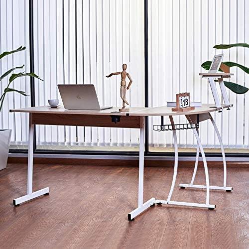 CO-Z L Shaped Computer Desk