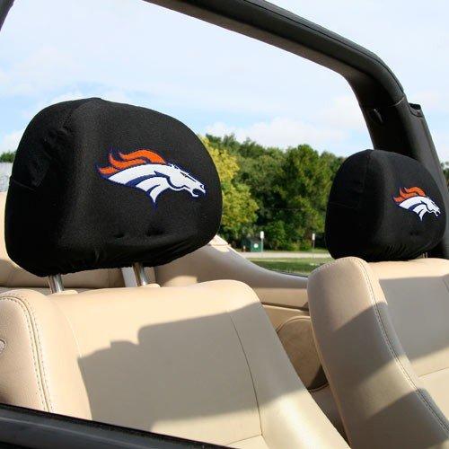 Denver Broncos Headrest Covers