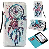 LG Aristo 2 Case, LG Tribute Dynasty Case, LG LV3 2018 Case, Love Sound [Wrist Strap] [Stand Feature] [3D Painted] PU Leather Wallet [Card/Cash Slots] Flip Cover for LG K8 2018 X210, Dream Catcher For Sale