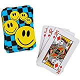 "Aryellys Packs 2 Pack Happy Face 2.5"" Mini Playing Cards Game Toy Party Favors"