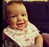 Baby Girl Bandana Drool Bibs for Drooling and