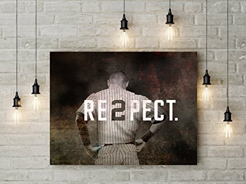 Derek Jeter New York Yankee Photo Art, Derek Jeter Canvas by Boston New England Photo Art