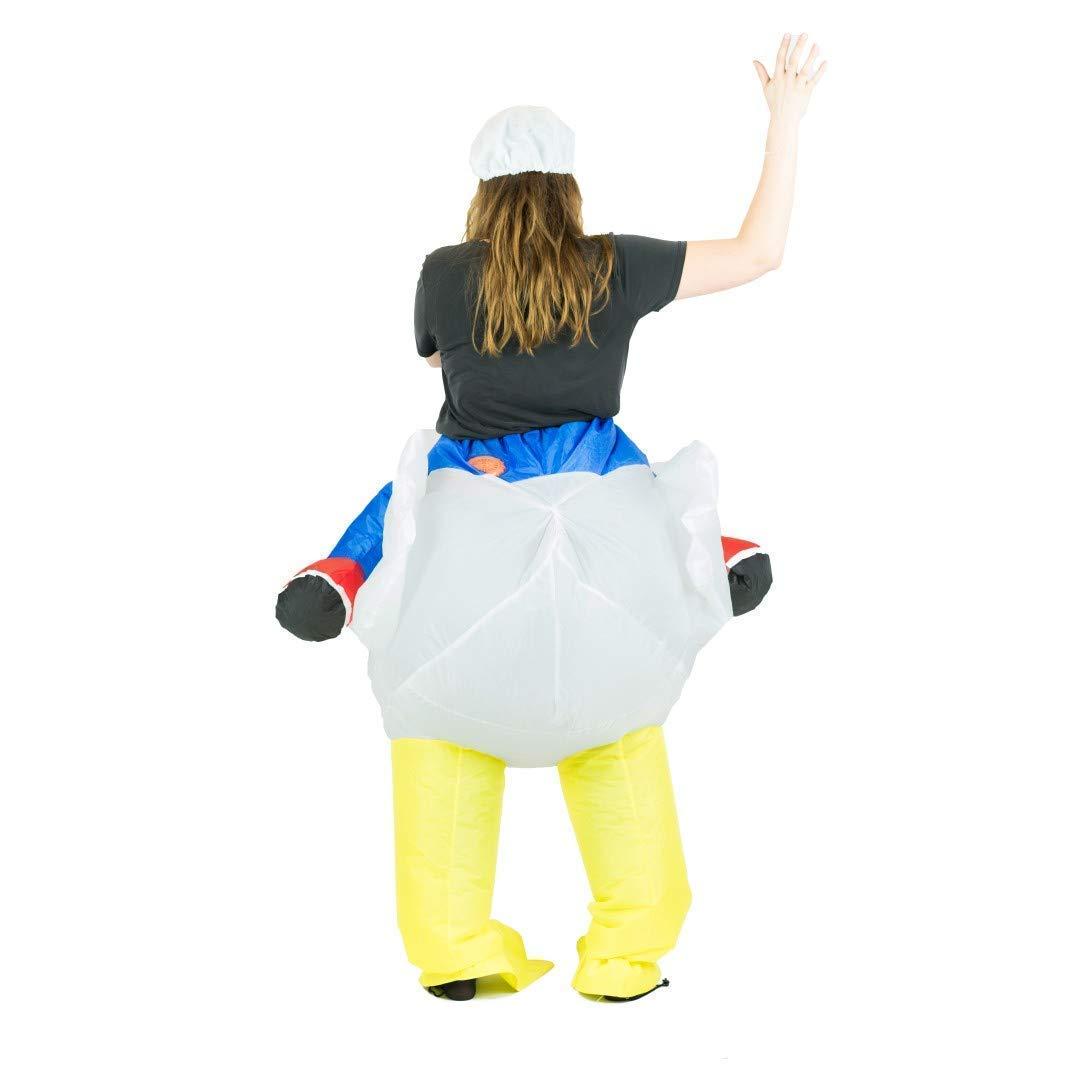 Bodysocks® Disfraz Hinchable de Pollo Adulto: Amazon.es: Juguetes ...
