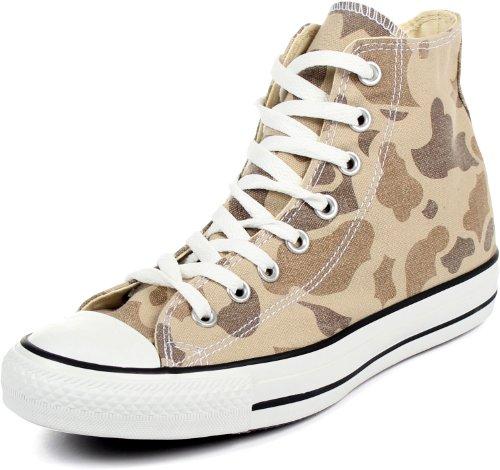 Camouflage Converse - Converse Chuck Taylor All Star Hi Camo,Safari,US 4 M