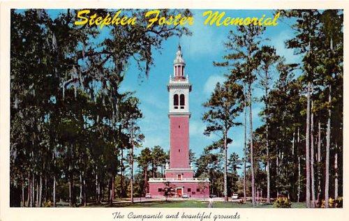 (White Springs, Florida Postcard)