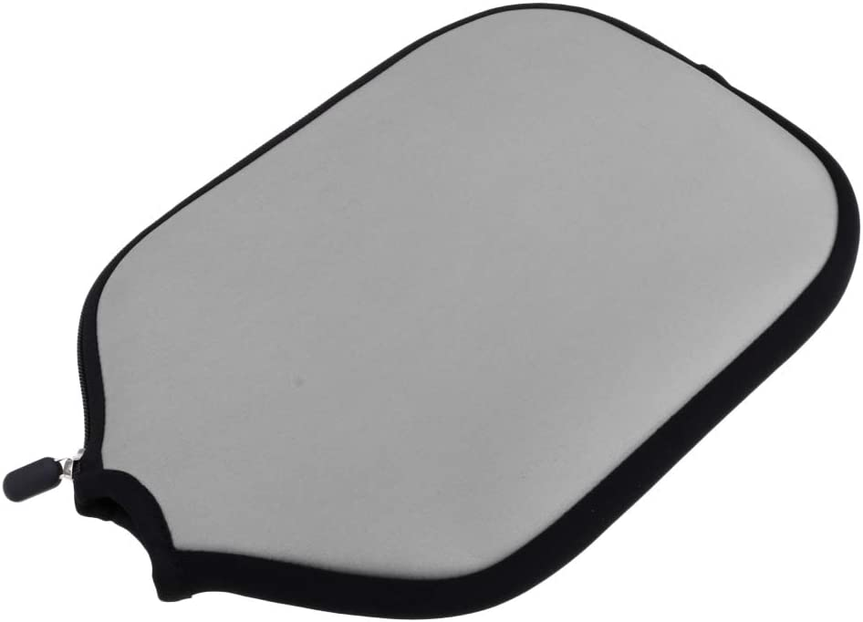 D DOLITY Premium Funda para Raqueta de Pickleball Protector de Racket Tama/ño de 30 x 20cm