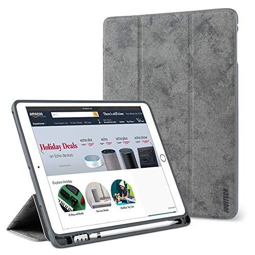 timeless design d8288 258d9 New iPad 9.7 Case 2018 with Pencil Holder,Flexible Soft TPU - Import It All