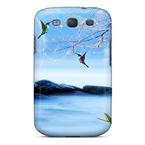 Galaxy S3 Hard Case With Awesome Look - QyFlRvs8224wkdcI by lolosakes