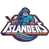 """New York Islanders NHL Hockey Car Bumper Sticker Decal 5"""" x 4"""""""