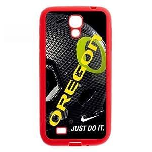 UO NCAA Oregon Ducks Faceplate Hard Case Cover For Samsung Galaxy S4 I9500 TPU-Nike Just Do It WANGJING JINDA