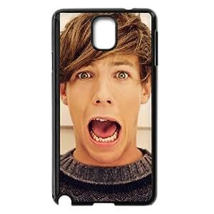 1D Louis Tomlinson Samsung Galaxy Note 3 Cell Phone Case Black D4611346