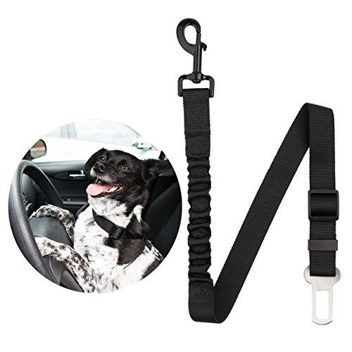 - Way-Seven Dog Pet Car Safety Adjustable Seatbelt Harness Lead Clip …